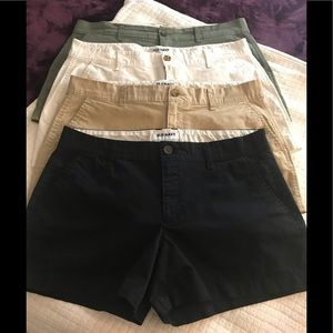 Bundle of 4 old navy shorts for $15